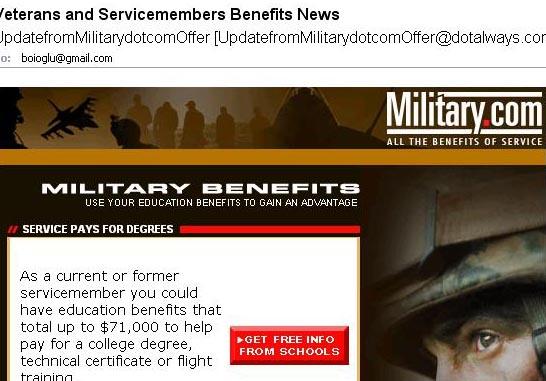 spam militar